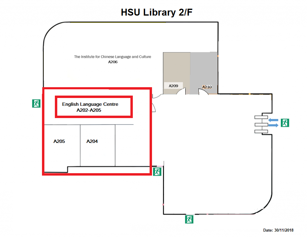 HSU ELC Location